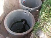 Железобетонные кольца для сливных ям, канализационных септиков.