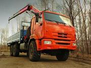 Услуги по перевозке грузов автомобилем с Гидроманипулятором