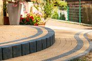 Тротуарная плитка KRETA структурная желтая - foto 0