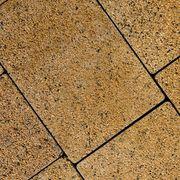 Тротуарная плитка MALTA структурная желтая - foto 0