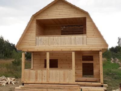 Строим Дома и бани из бруса на любой вкус и бюджет. Скидель - main
