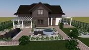 дизайн и проектирование  помещений и фасадов зданий,  ладшафтный дизай - foto 0